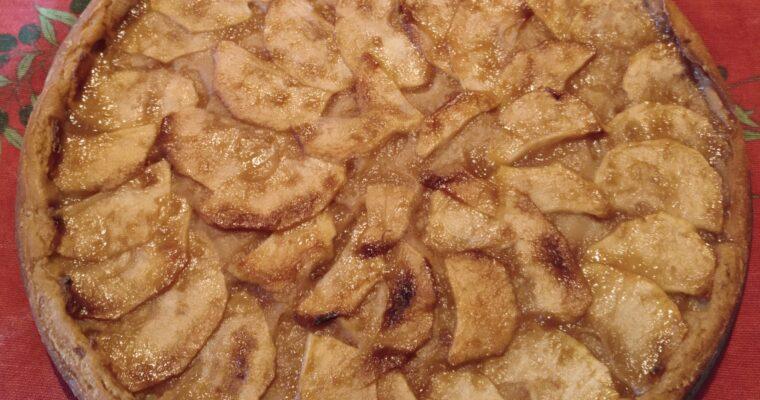 "Apple cake ""Tarta de manzana"""