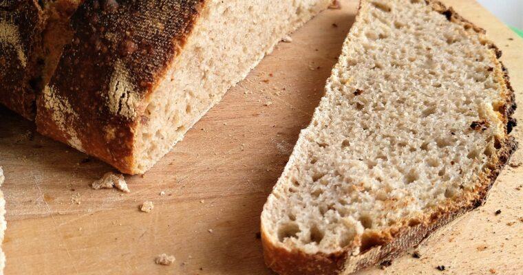 Easy no-knead Sourdough Bread